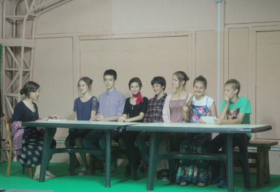 «Званый ужин у графини», презентация одной из групп