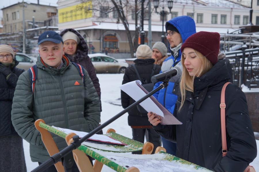 Акция «Молитва памяти» в Екатеринбурге