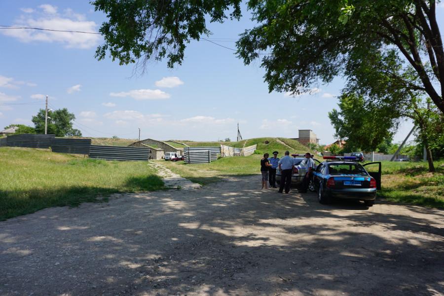 Обнаруженное захоронение у пороховых складов в Тирасполе