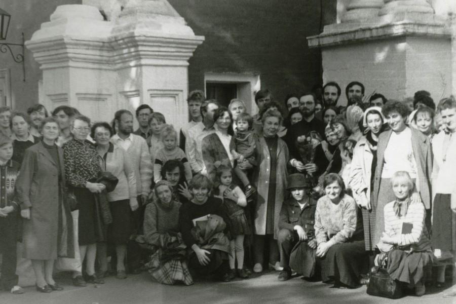 24 сентября 1989 г. В день пресвитерской хиротонии отца Георгия Кочеткова в Новодевичьем монастыре