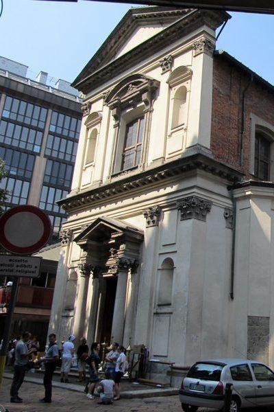 Храм святителя Амвросия Медиоланского (Милан, Италия)
