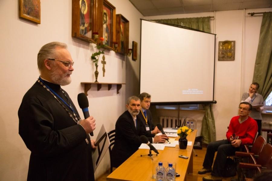 Священник Георгий Кочетков, кандидат богословия, ректор СФИ