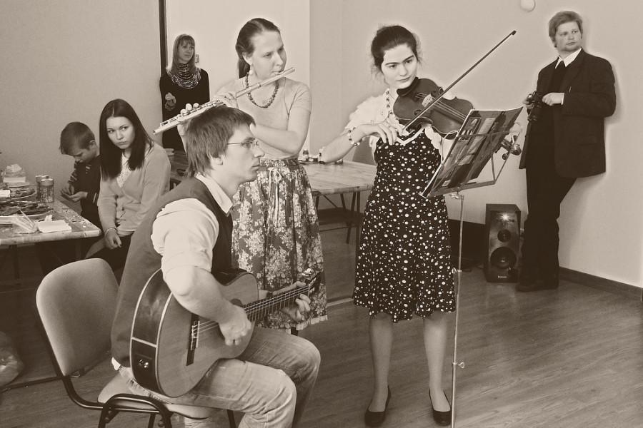 Импровизированный оркестр