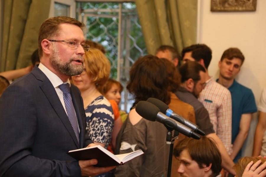 Дмитрий Гасак, первый проректор СФИ