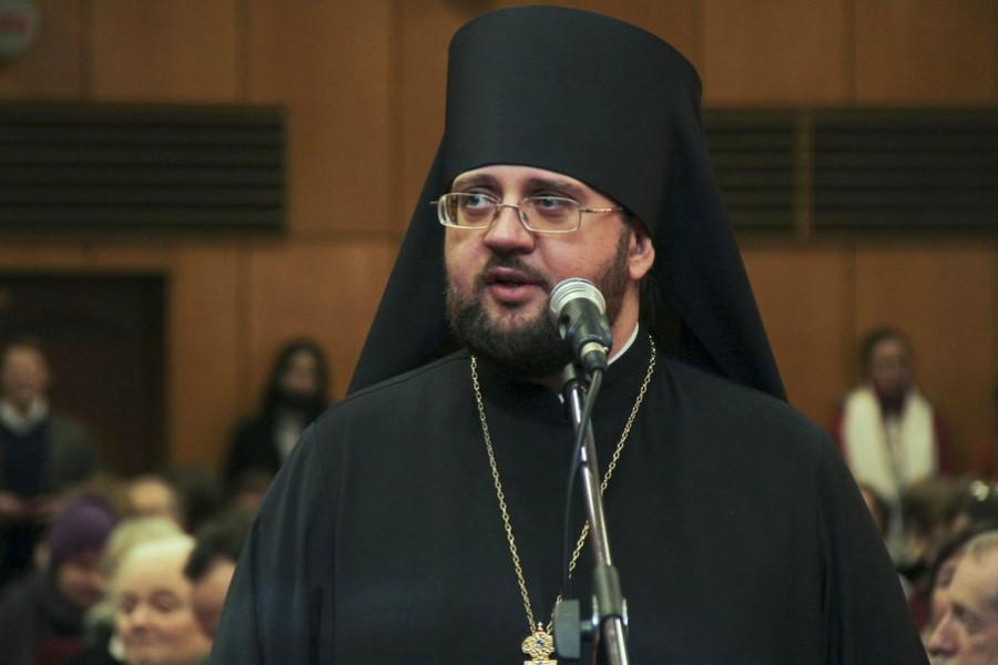 Преподаватель Киевской духовной академии игумен Сильвестр (Стойчев)