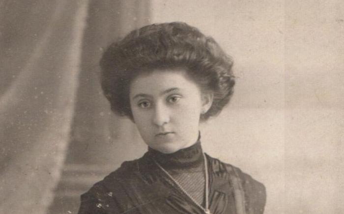 Евгения Миллер в юности
