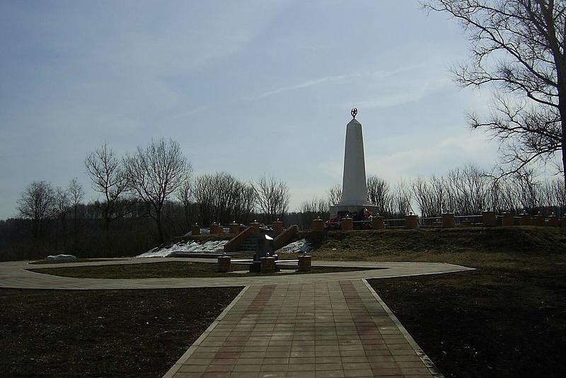 Обелиск воинам Ржевской битвы. Фото: Wikimedia Commons / Oleksha