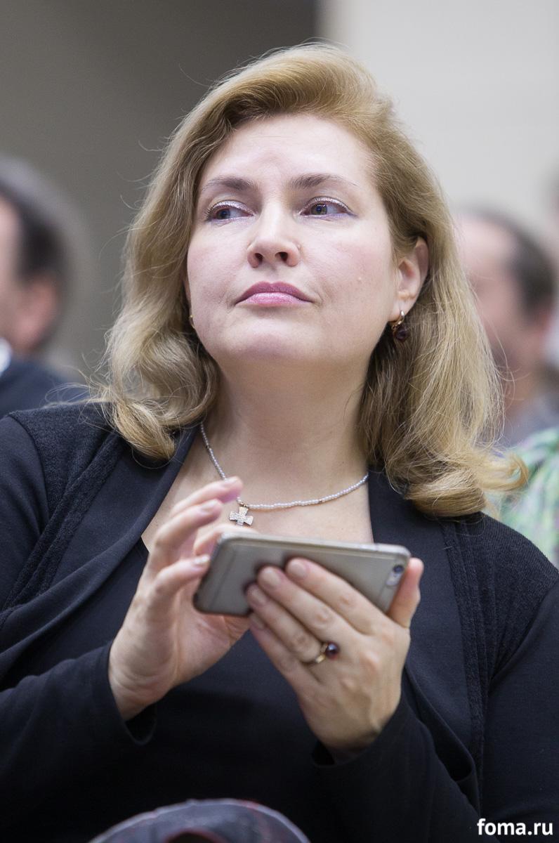 Руководитель сектора коммуникаций Санкт-Петербургской митрополии Наталья Радоманова