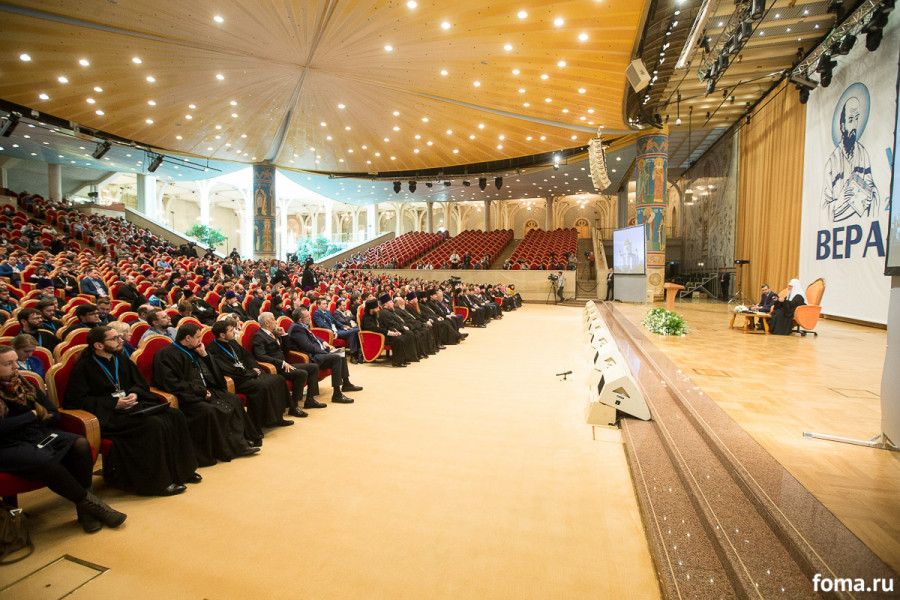 Встреча с патриархом Кириллом в храме Христа Спасителя