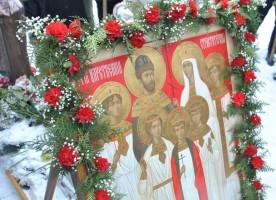 Крестный ход на место массовых расстрелов состоялся в Могилеве