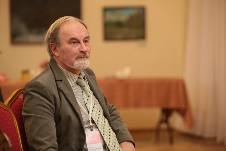 Сергей Волков, руководитель Биографического института Университета Дмитрия Пожарского