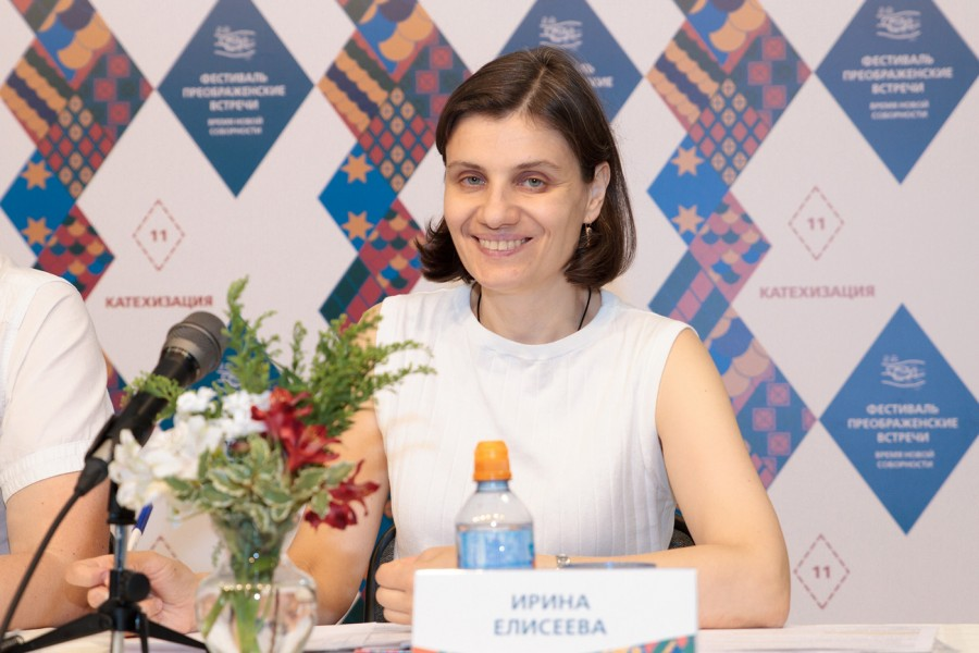 Ирина Елисеева, сотрудник Богословского колледжа при СФИ