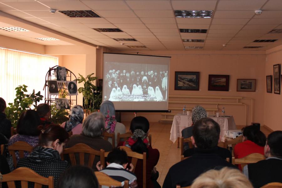 Показ фильма в Кишиневе, 20 марта