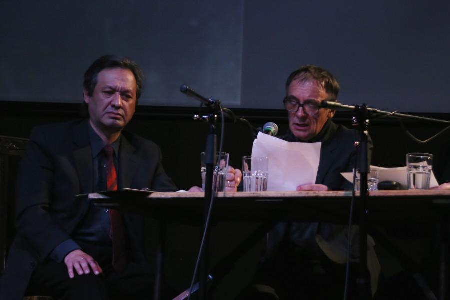 Слева направо: Дмитрий Лагачев, Валерий Дьяченко