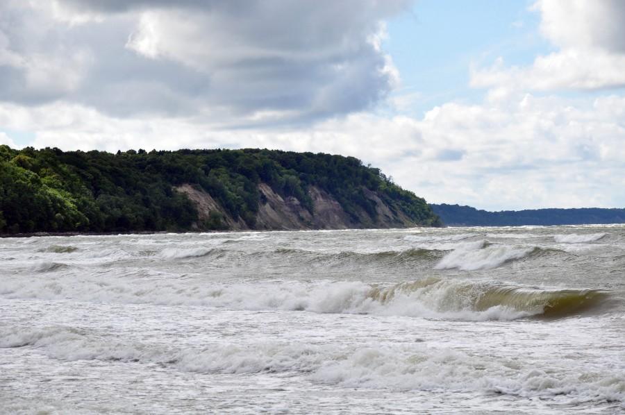 Берег Балтийского моря в Светлогорске