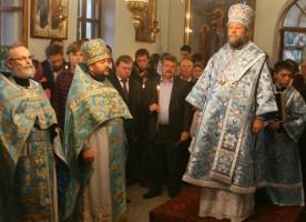 Священник Георгий Кочетков побывал в Кишиневе