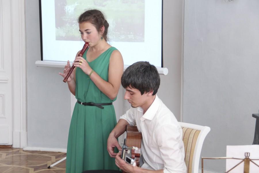 Денис Бим и Иола Пшеничная