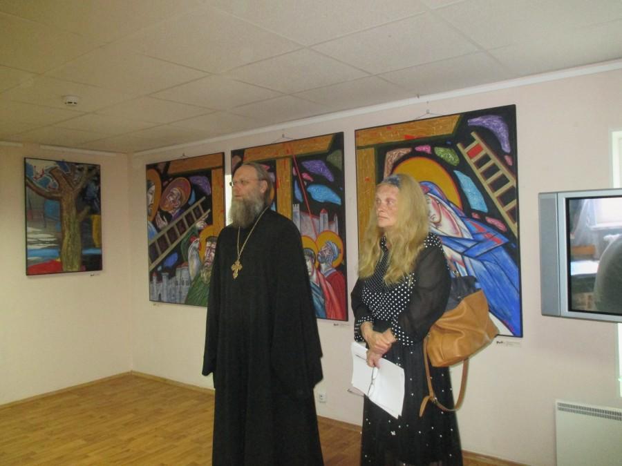 Открытие выставки художника Виктора Забелина