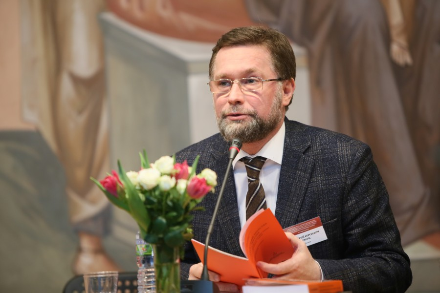 Dmitry Gasak, Vice Rector of SFI and Chairman of the Transfiguration Brotherhood