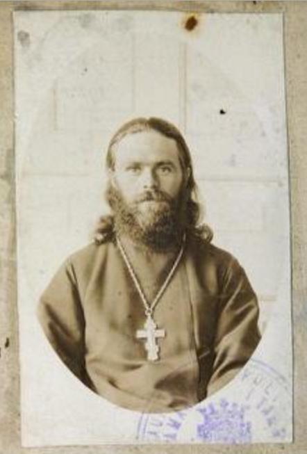 Священник Павел Боротинский
