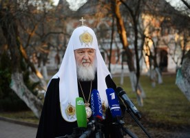 Святейший Патриарх Кирилл обсудил по телефону с Папой Римским Франциском и Предстоятелями...