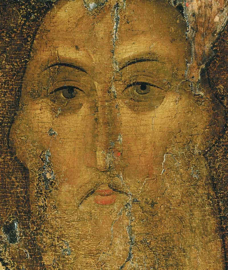 Андрей Рублев. Христос-Панократор. Звенигородский чин (рубеж XIV- XV вв.)