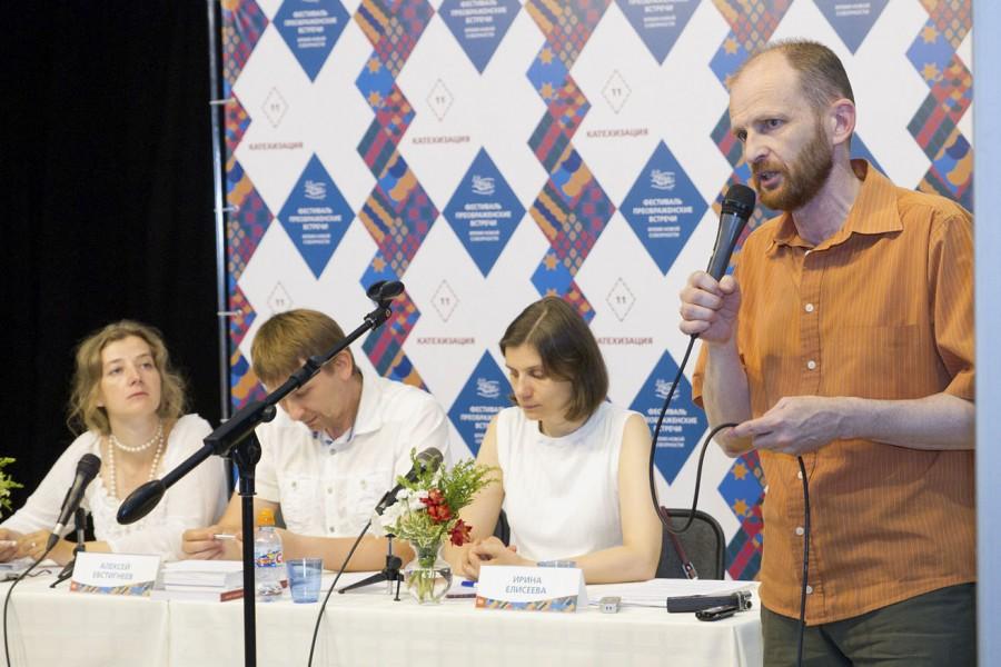 Справа – Алексей Волков, катехизатор на приходе из г. Гродно