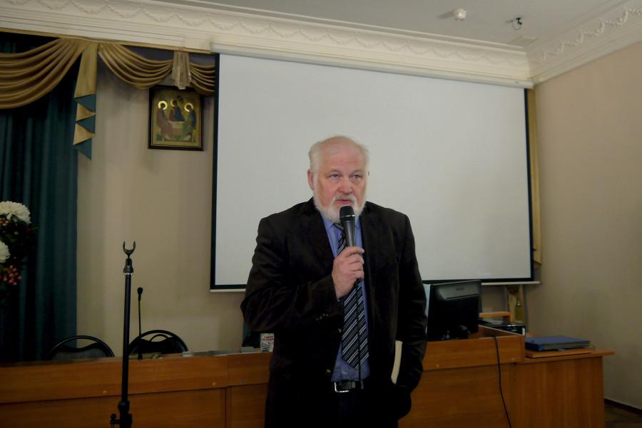 Заведующий кафедрой богословия РХГА Олег Иванов