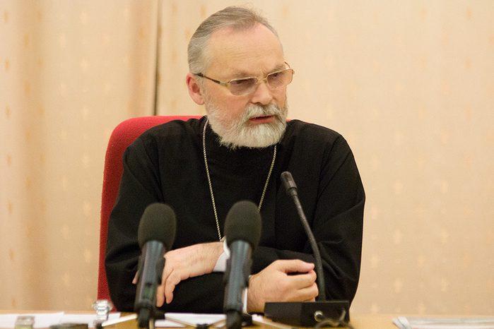 Профессор священник Георгий Кочетков, ректор СФИ