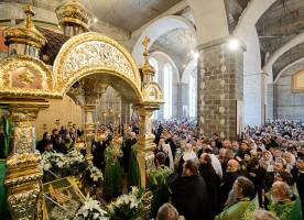 50-летие преставления преподобного Севастиана Карагандинского торжественно отметили в ...