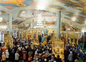 В Чимкенте прошли торжества, посвященные 50-летию преставления преподобноисповедника ...