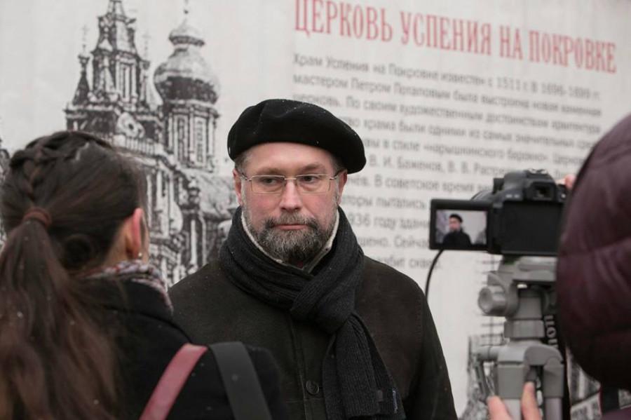 Молитва памяти. Москва, ул. Покровка, д. 5. Дмитрий Гасак