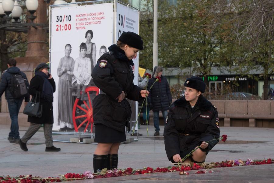 «Молитва памяти», Москва. Фото: Евгений Гурко