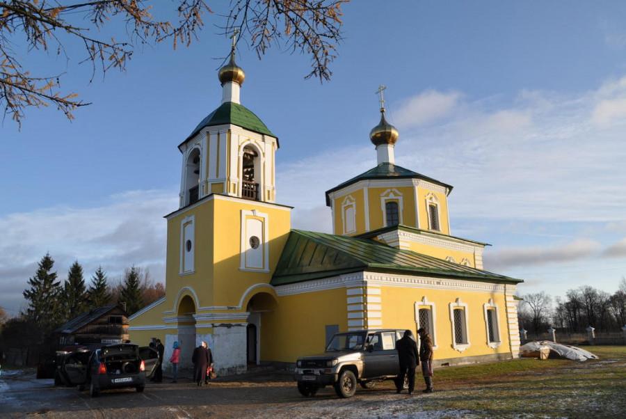 Храм Казанской иконы Божией Матери (село Власьево), 2011 г.