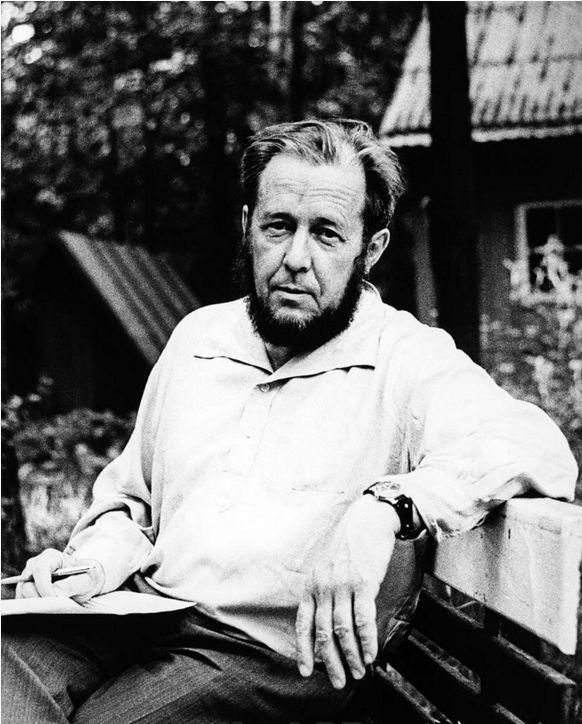 А.И. Солженицын, 1967 г.