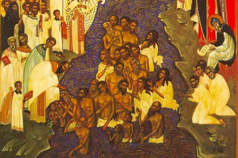 картинка крещение руси