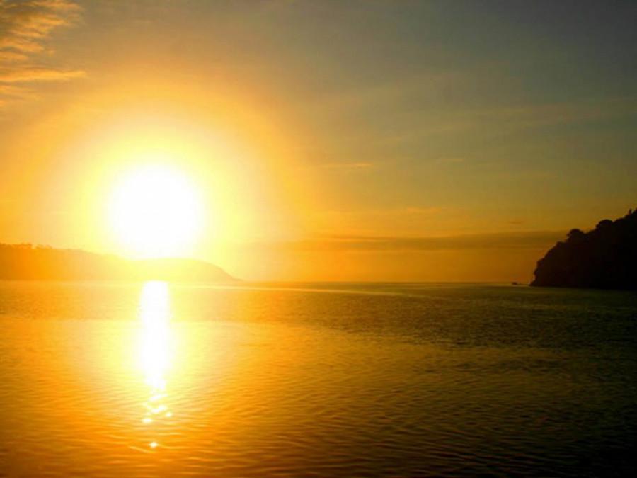 прекрасный восход