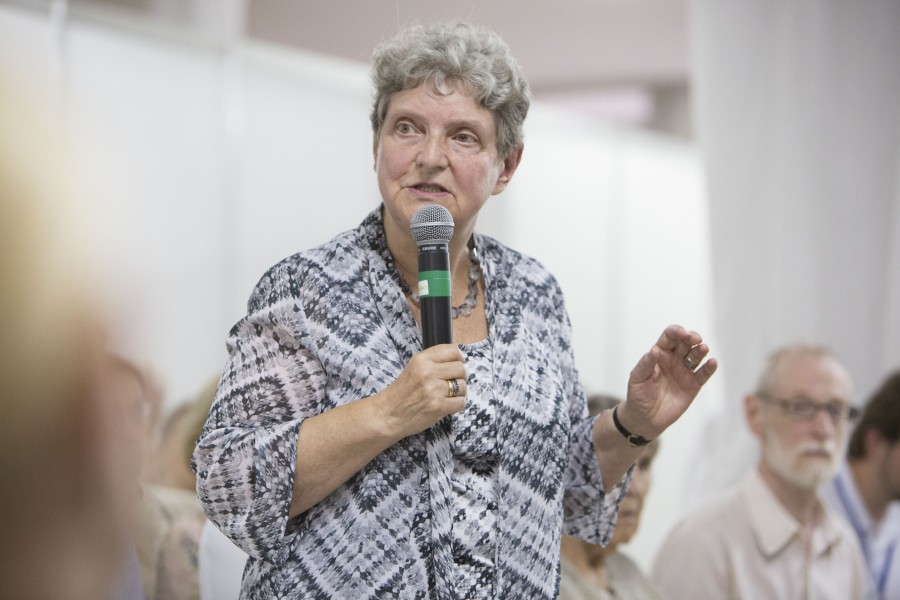 Svetlana Gannushkina, Chairman of the NGO, Civil Assistance Committee