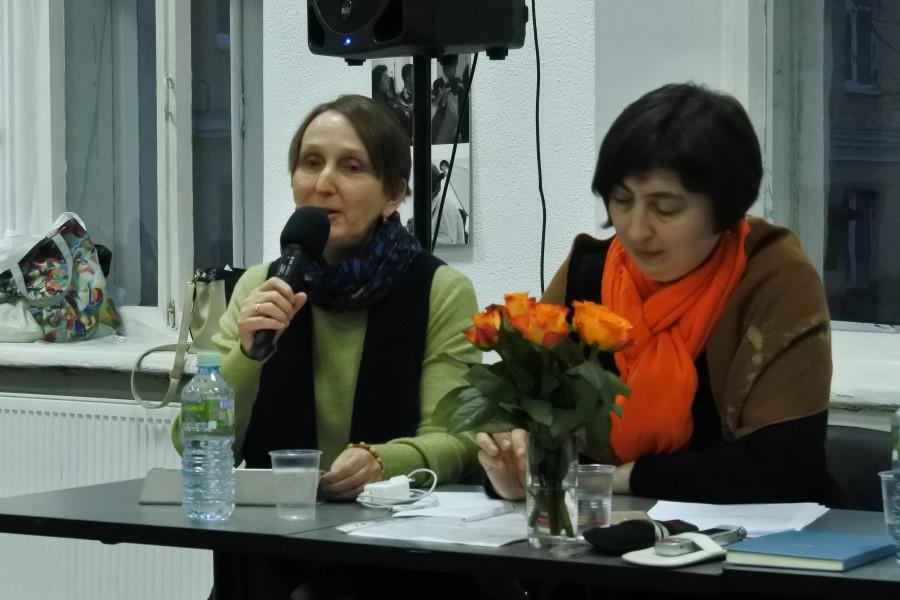Слева – Мария Патрушева