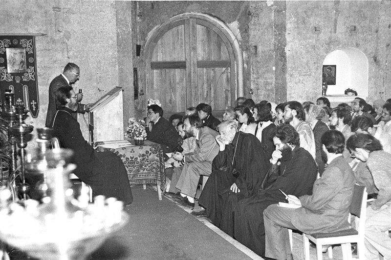Одна из первых конференций Преображенского братства - Афанасьевские чтения. 1993 год