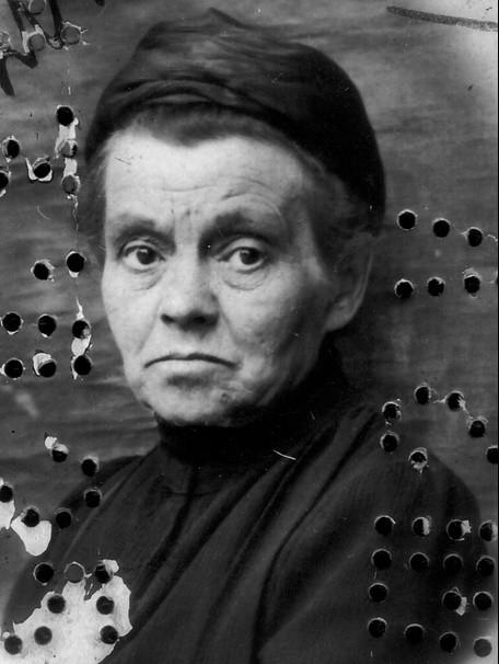 Александра Алексеевна Ершова. 1926 г.