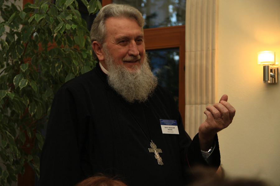 Протоиерей Василе Михок, президент движения «Воинства Господне» (Румыния, Сибиу)