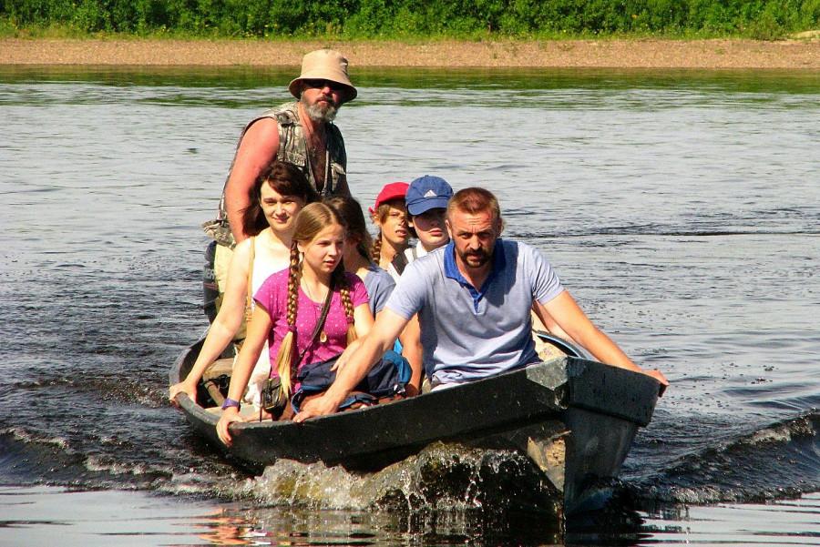На реке Пинеге (Архангельская область)