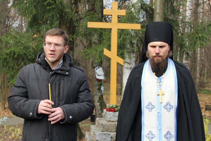Иеромонах Ермоген (Сёмин) и Сергей Чусов