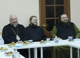 15 января протопресвитера Виталия Борового вспоминали в Свято-Никольском мужском ...