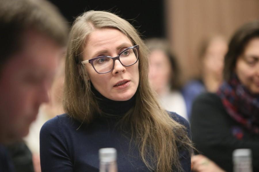 Доцент журфака МГУ Екатерина Воинова