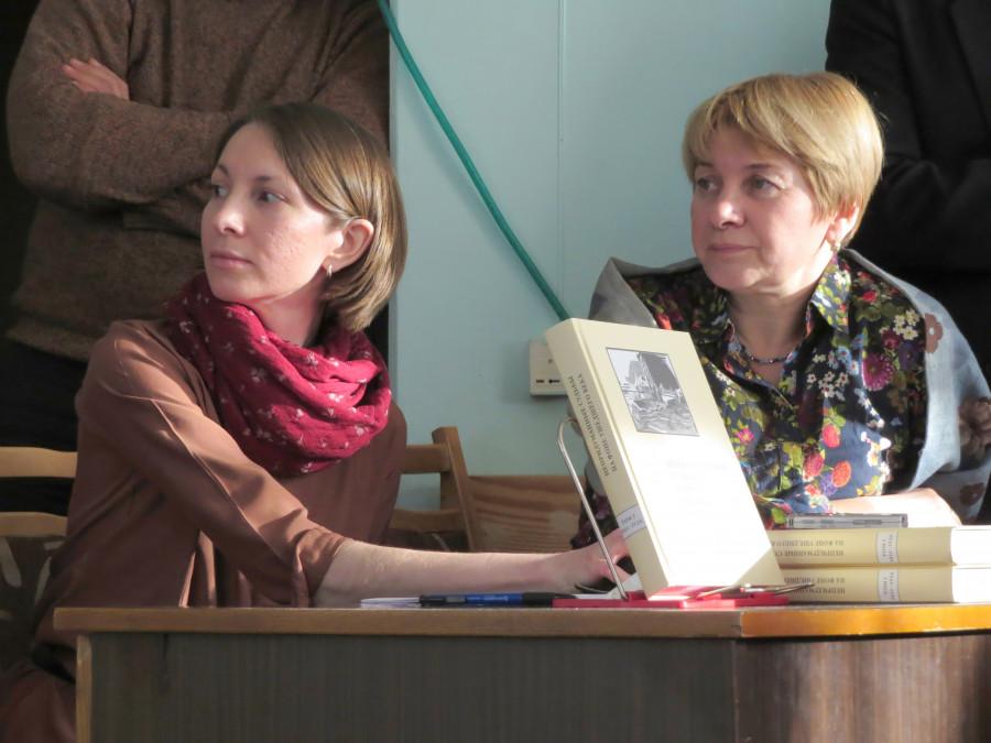 Анна Лепехина, Ольга Борисова