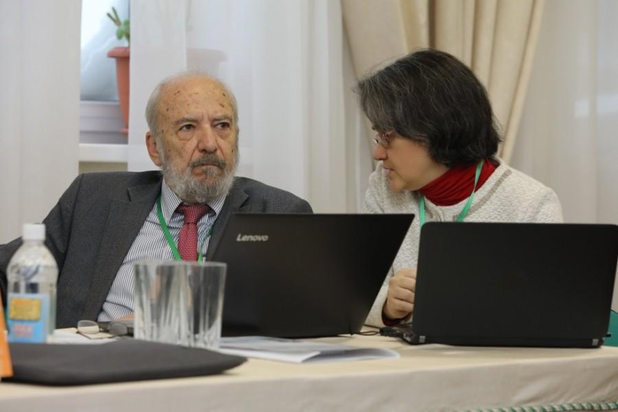 Профессор Петрос Василиадис и переводчик Наталья Кольцова