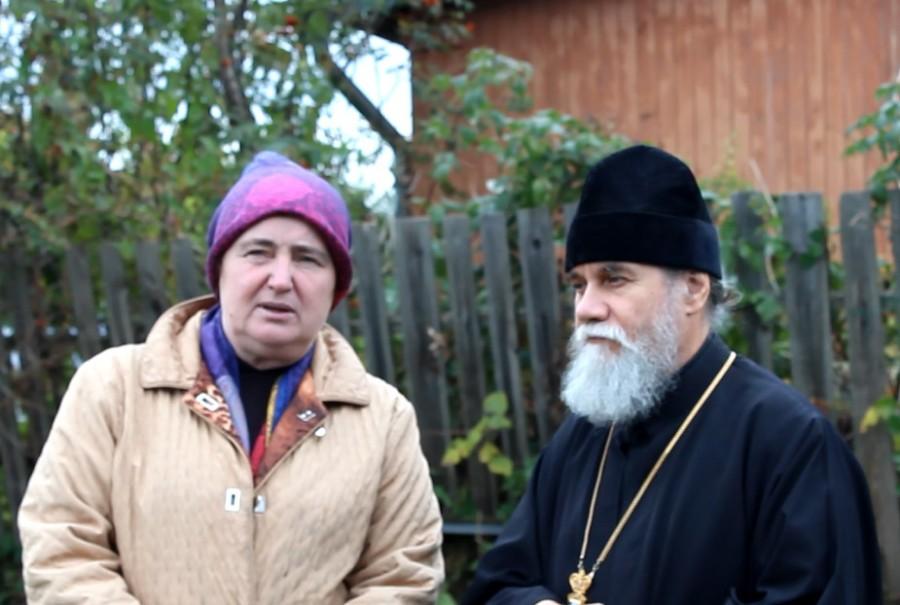 Елена Евгеньевна Старостенкова и протоиерей Андрей Лобашинский