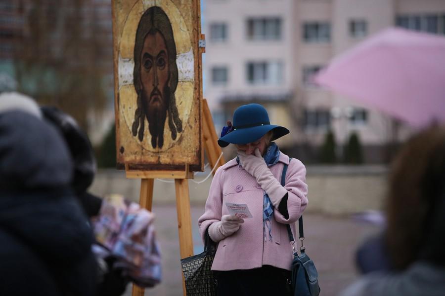 «Молитва памяти», Истра. Фото: Александр Волков